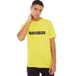 T-Shirt The North Face Light Tee jaune