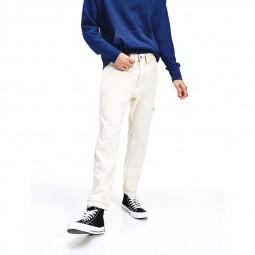 Pantalon Tommy Jeans Rey écru