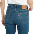 Jean Levi's 501 Crop Jeans bleu stone