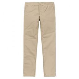 Pantalon Carhartt Sid Pant beige clair