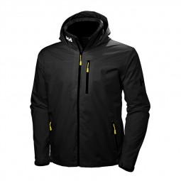 Blouson Helly Hansen Crew Hooded noir