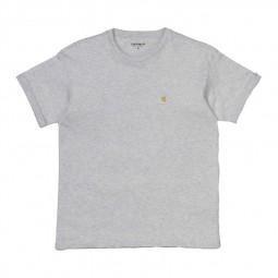 T-shirt Carhartt Chasy gris chiné