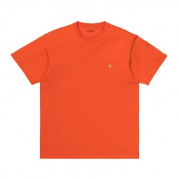 T-shirt Carhartt Chase orange