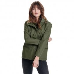 Manteau de pluie Only vert