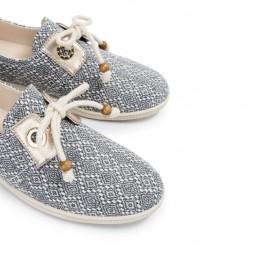Chaussures Armistice Stone One gris motifs