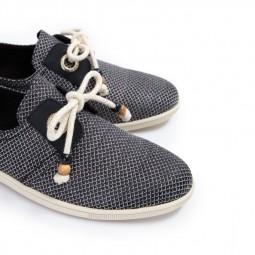 Chaussures Armistice Stone One jacquard noir & blanc