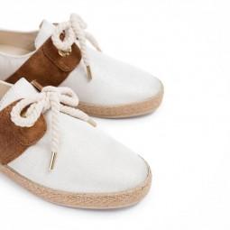 Chaussures Armistice Cargo One écru brillant