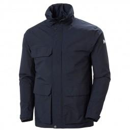 Blouson Helly Hansen Utility Rain Jacket bleu marine