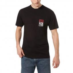 T-shirt manches courtes Vans noir