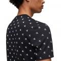 T-shirt Calvin Klein noir logo CK imprimé