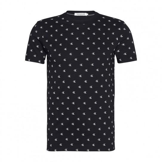 T-shirt Calvin Klein logo CK imprimé
