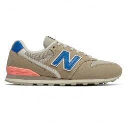 Chaussures New Balance 996 beige bleu rose