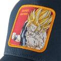 "Casquette Capslab Dragon Ball Z ""Super Saiyan"" bleu rouge"
