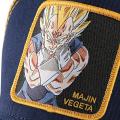 "Casquette Capslab Dragon Ball Z ""Majin Vegeta"" bleu jaune"