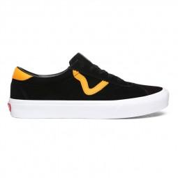 Chaussures Vans Sport noir jaune