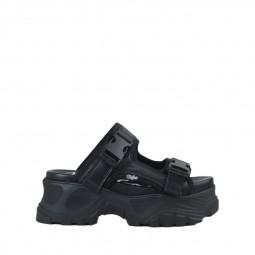 Sandales à plateforme Buffalo noires