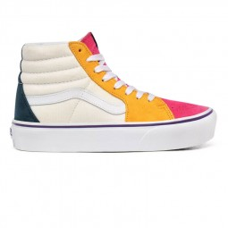 Chaussures Vans Sk8-Hi Platform mini cord multicolore