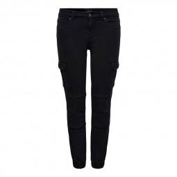 Pantalon cargo Missouri Only noir