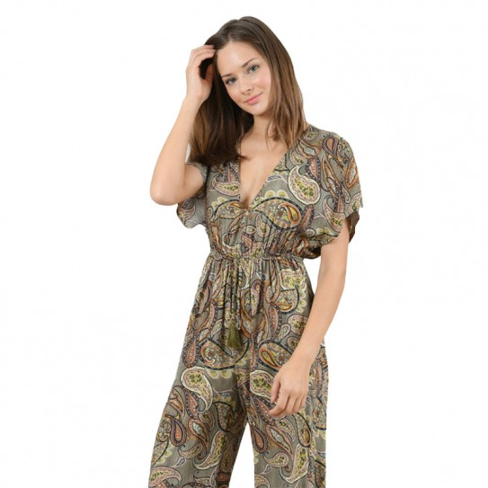 Combinaison pantalon Molly Bracken à motifs indiens