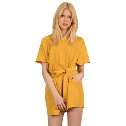 Combinaison short Molly Bracken jaune