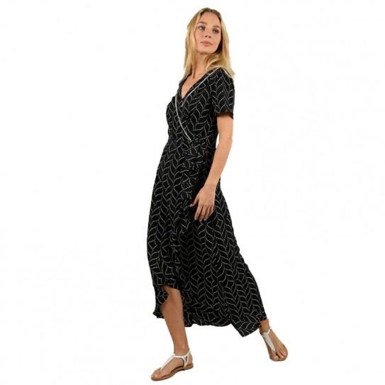 Robe longue portefeuille Molly Bracken
