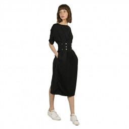 Robe mi-longue Molly Bracken noire