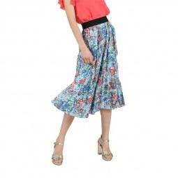 Jupe longue imprimé à fleurs Molly Bracken