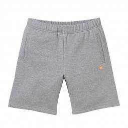Short Carhartt WIP Chase Sweat Short gris chiné