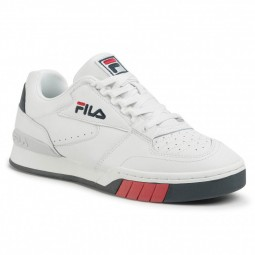 Chaussures Fila Netpoint blanc bleu marine