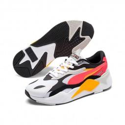 Chaussures Puma RS-X3 Puzzle blanc, noir, orange, rouge