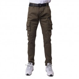 Treillis pantalon cargo Project X Paris kaki