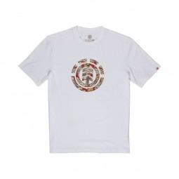 T-shirt Element Origins Icon blanc