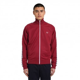 Veste Fred Perry J6231 rouge