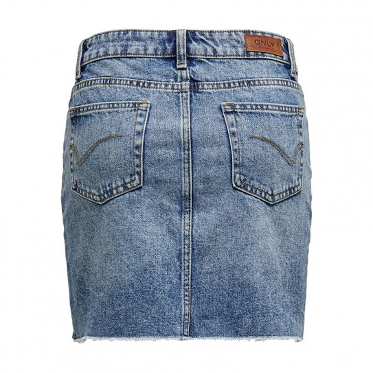 Jupe courte en jean Only