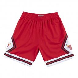 Short Mitchell & Ness NBA Chicago Bulls rouge