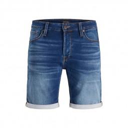 Short en jean Jack & Jones Rick Icon bleu