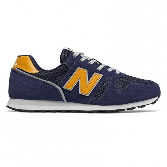 new balance jaune et bleu