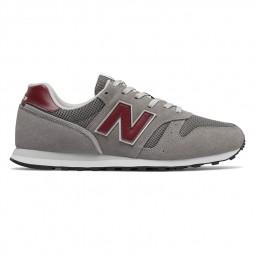 Chaussures New Balance 373 gris bordeaux