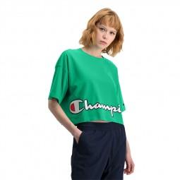 T-shirt Champion boxy court vert