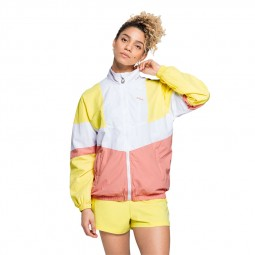Veste Fila Baka Track jacket blanc, jaune, rose