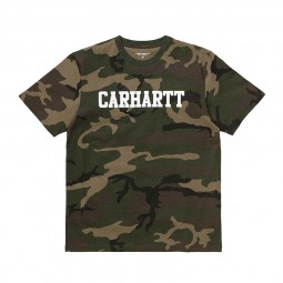 T-shirt Carhartt WIP College camouflage