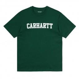 T-shirt Carhartt WIP College vert foncé