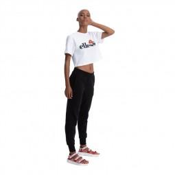 T-shirt femme Ellesse Alberta Crop Tee blanc
