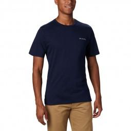 T-shirt col rond Columbia Rapid Ridge bleu marine