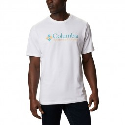 T-shirt col rond Columbia CSC Basic blanc