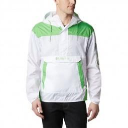 Coupe vent Columbia Challenger blanc vert