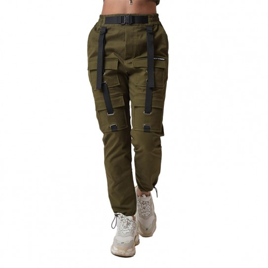 Pantalon cargo treillis kaki femme Project