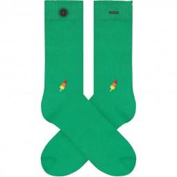 Chaussettes A-dam Socks - Adam vertes glace