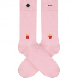 Chaussettes A-dam Socks - Siegfried roses frites