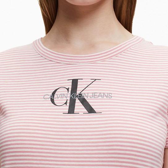 T-Shirt rayé Calvin Klein